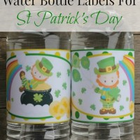 Leprechaun Labels For St Patrick's Day