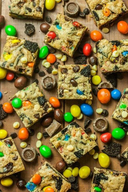 Chocolate Cookie bars
