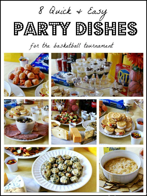 8 Quick Easy Party Dishes