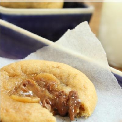 Gooey, Chewy Warm Easter Egg Cookies