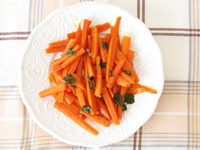 Maple Glazed carrots I Smart Party Planning