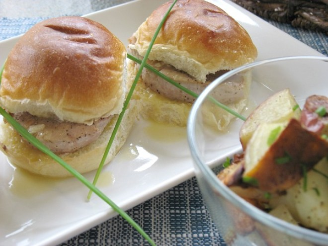 Easy Pork Sliders #Easter Dinner
