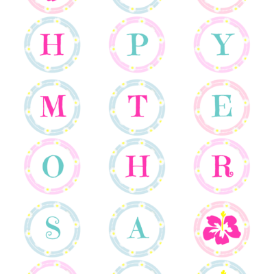 Mother's Day Banner – Free Printable