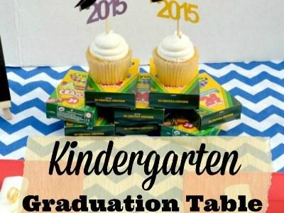 Dynamite Kindergarten Graduation Table