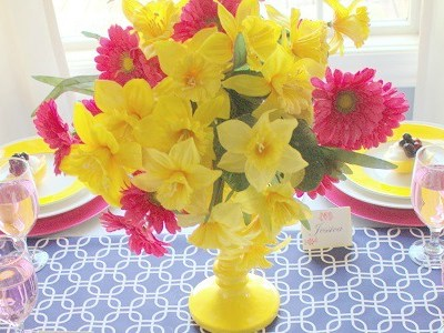Mothers Day Tablescape