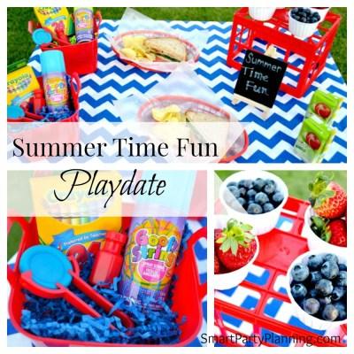 Kids Summer Time Fun Playdate