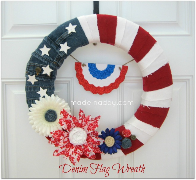Try your hand at some DIY 4th of July decoration with this selection of awesome wreaths. These wreaths are easy crafts that will spruce up your home decor for the holiday season. Try out the tutorials to create something stunning that all your friends are going to be talking about.