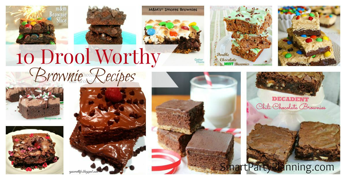10 Brownie Recipes