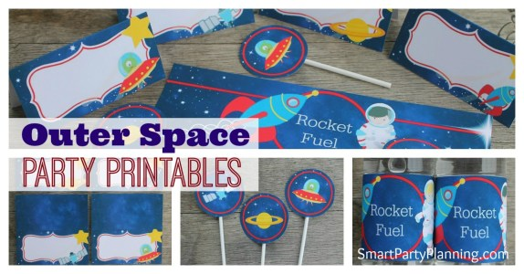 Outer Space Printables
