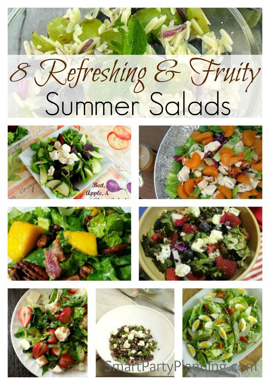 8 refreshing Summer Salads