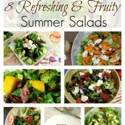 8 Refreshing & Fruity Summer Salads