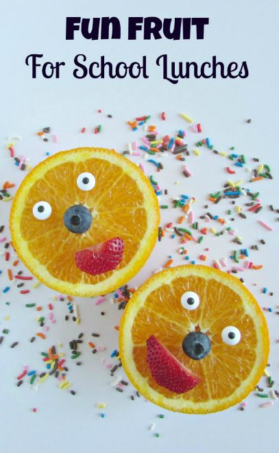 Fun Fruit For School Lunches