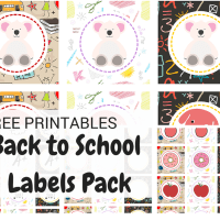 free printable back to school pack