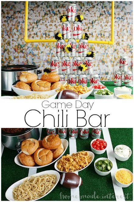 Game Day Chili Bar