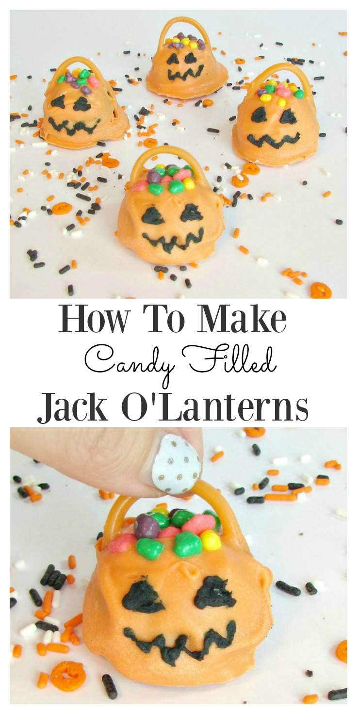 How To Make Candy Jack O' Lanterns