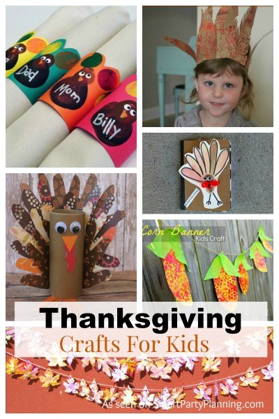 Thanksgiving Crafts For Kids: Easily Made