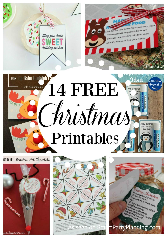 14 Awesome Christmas Printables For Free
