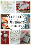 Selection of 14 awesome FREE Christmas printables that will help make the season extra fun and festive. Easy to use and download.