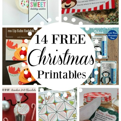 14 Awesome Christmas Printables For FREE