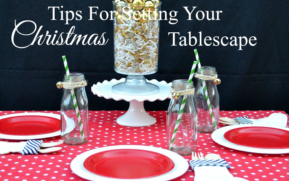 Try out these easy tips for setting your Christmas tablescape without added stress, so you can enjoy the holiday season. Easy to apply looks great.