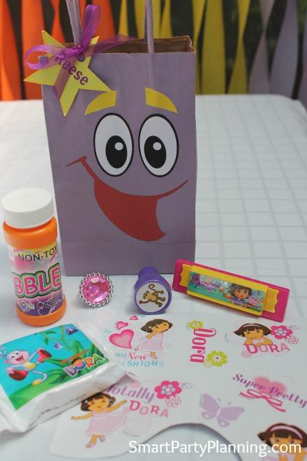 Dora Party Favors