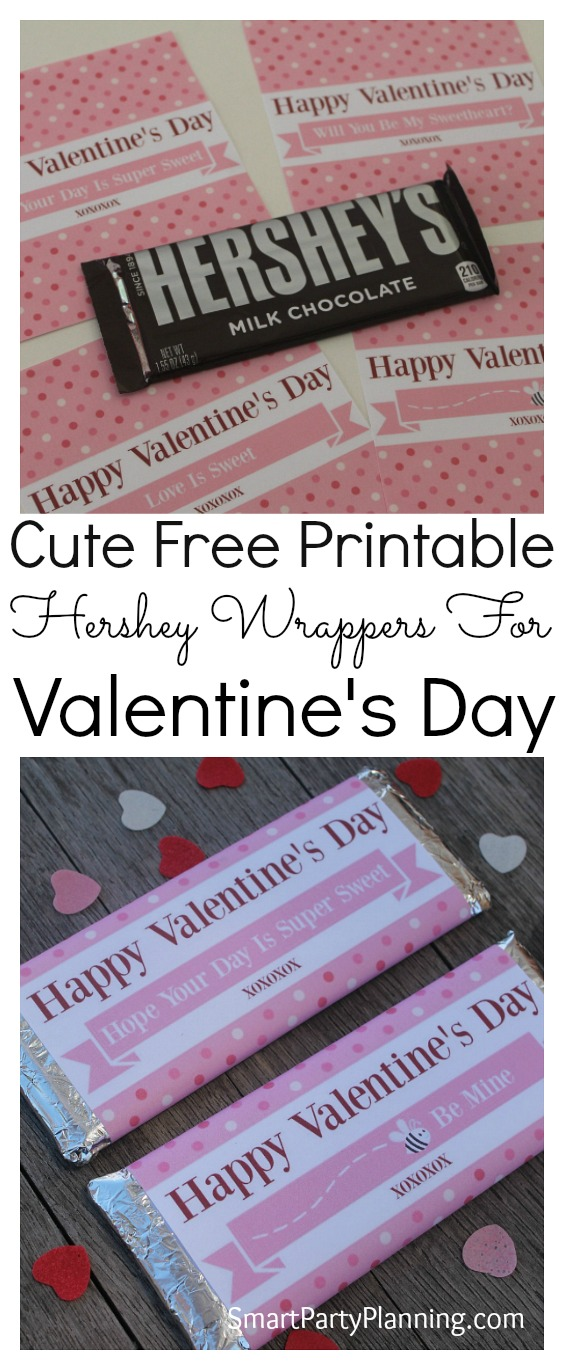 image relating to Free Printable Hershey Bar Wrappers called Hershey Bar Wrappers For Valentines Working day
