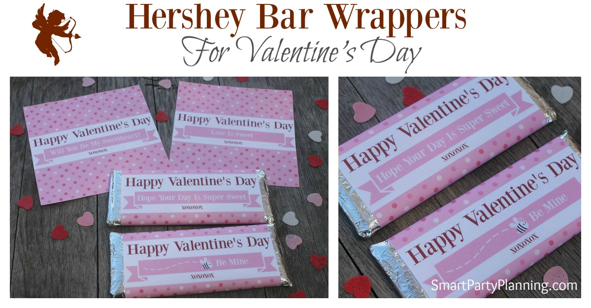 Hershey Bar Wrappers for Valentines Day FB