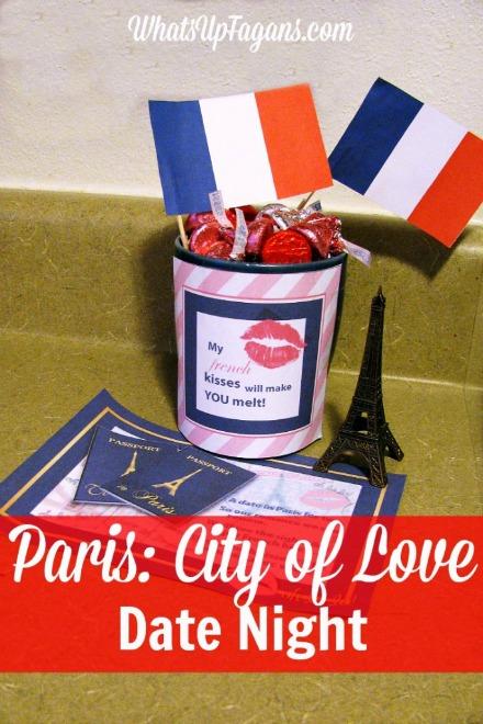 Paris city of love date night