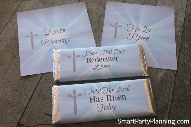 DIY crafts are perfect for Easter gift ideas. Try these gorgeous Hershey bar printable wrappers to bring some religious reflection to your Easter gift giving this year. Easter is not all about the Easter bunny!