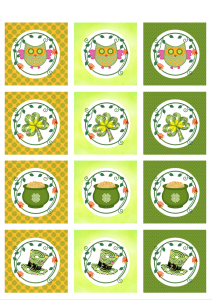 Looking for some DIY crafts for St Patrick's Day? Printable cupcake toppers are not only fun, but they will help make your cupcakes look sensational! You could also use them as printable labels for gifts.  Download your FREE St Patrick's day cupcake toppers for easy and budget friendly party styling.