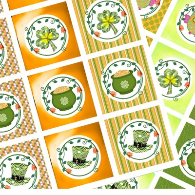 St Patrick's Day Cupcake Toppers – Free Printables
