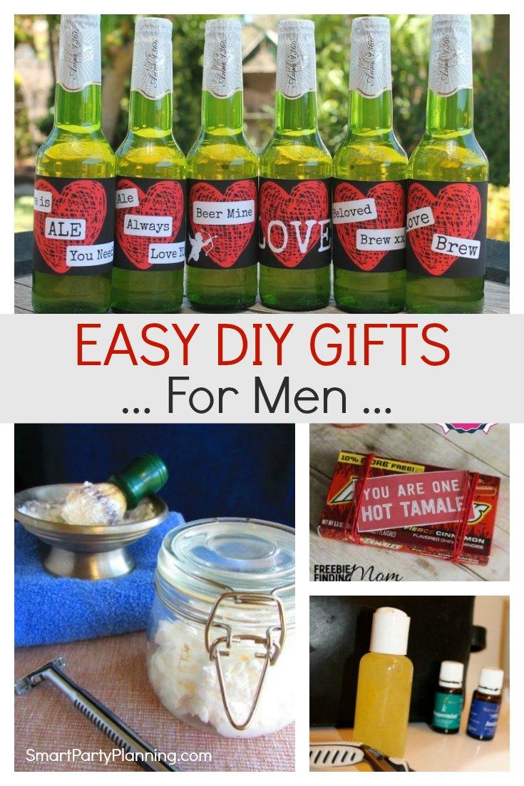 Easy DIY Gifts For Men
