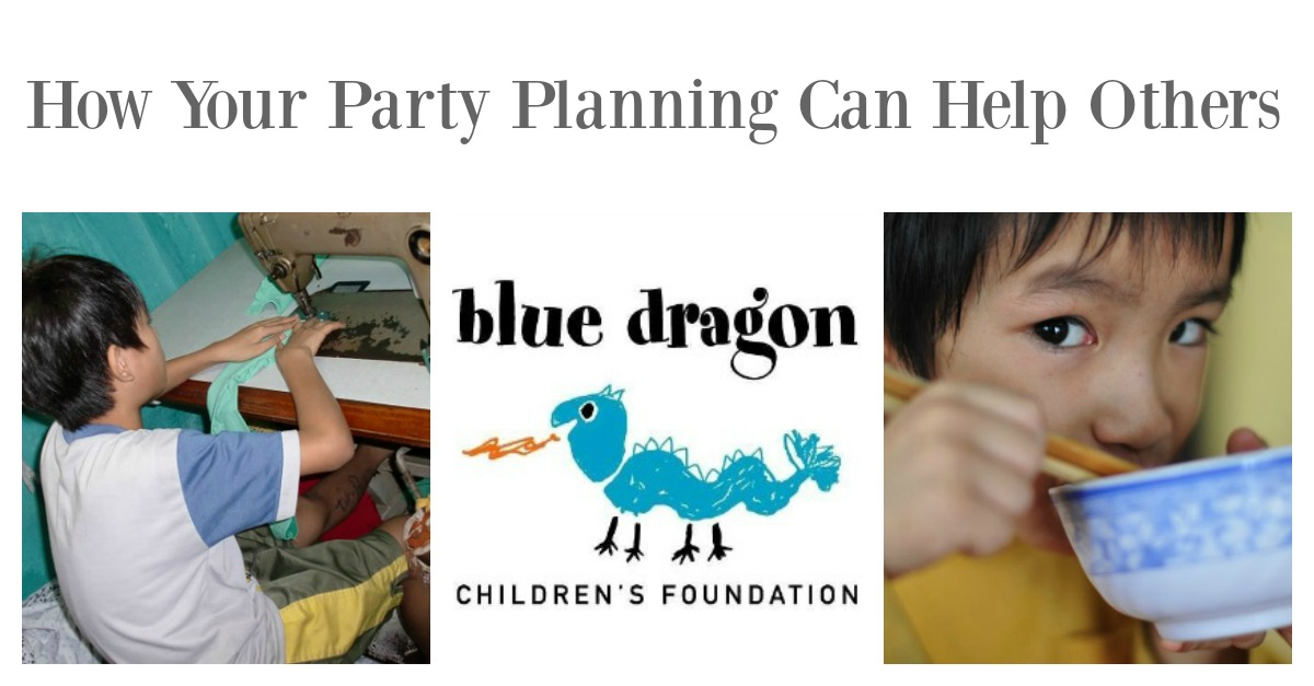 Have you ever considered how your party planning could actually help others in need? Would you love the feel good factor of knowing that by simply planning a party for your child, creating crafts  or organizing a printable gift could actually help another child in desperate need?  Well you really can and you can today.  Hint: It's easier than you think!