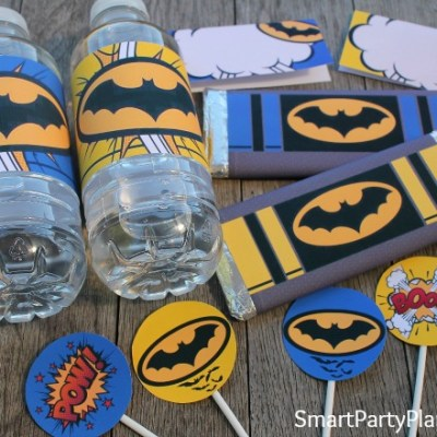 Batman Printables For Superheroes