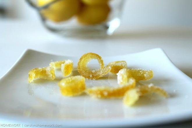 Candied Citrus Peels