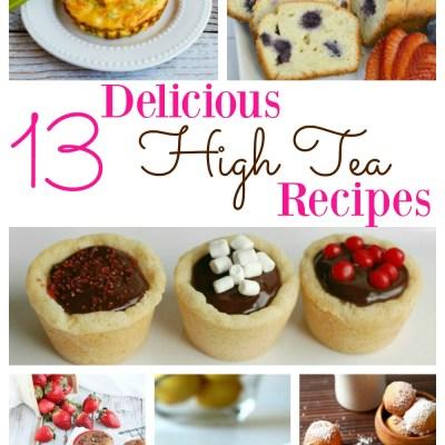 Delicious High Tea Recipes