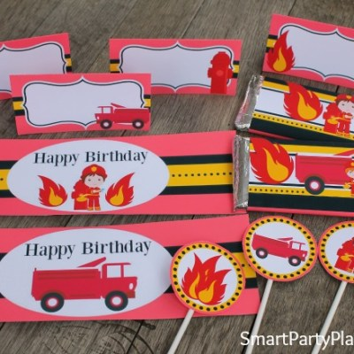 Red Hot Fireman Printables