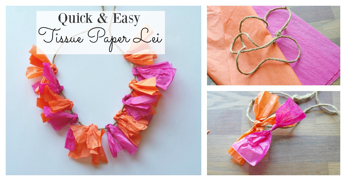 DIY-hawaiian-tissue-paper-lei