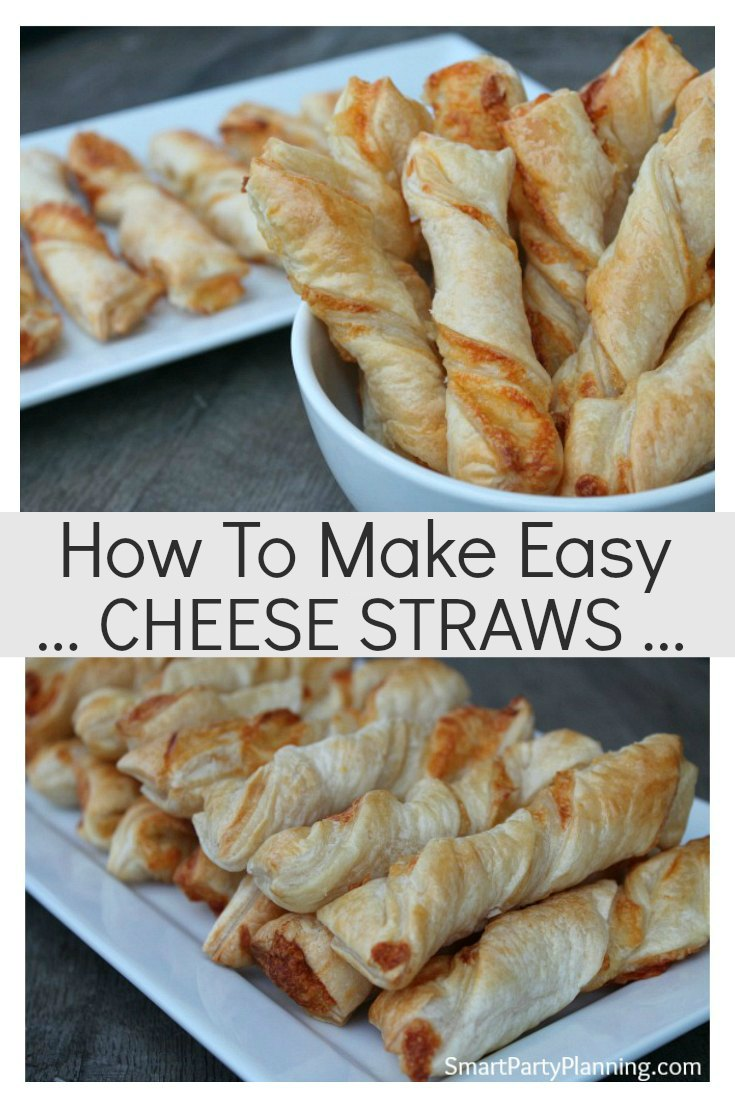 How To Make Easy Cheese Straws