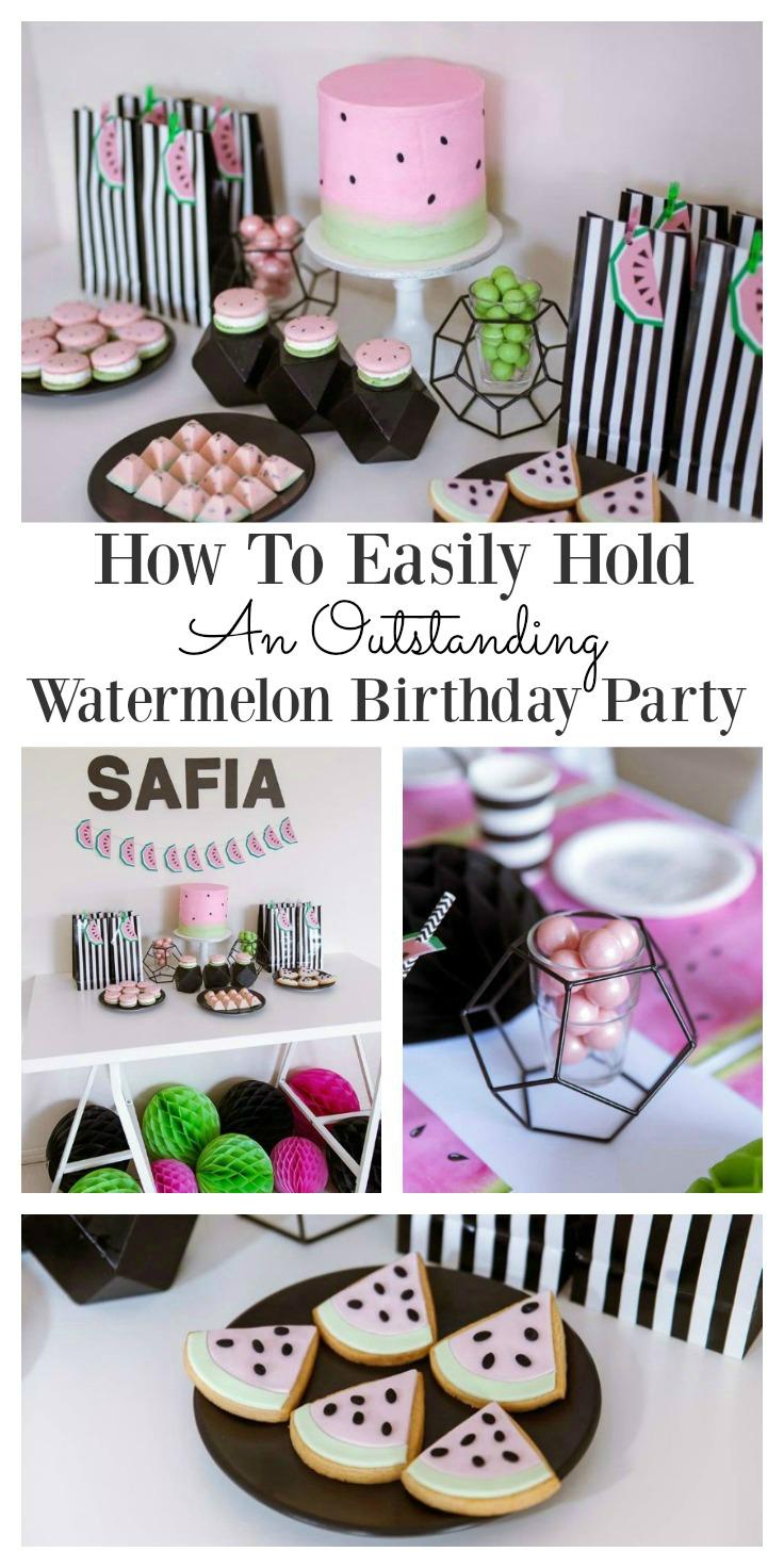 Watermelon Birthday Party