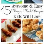 Easy Finger Food Recipes