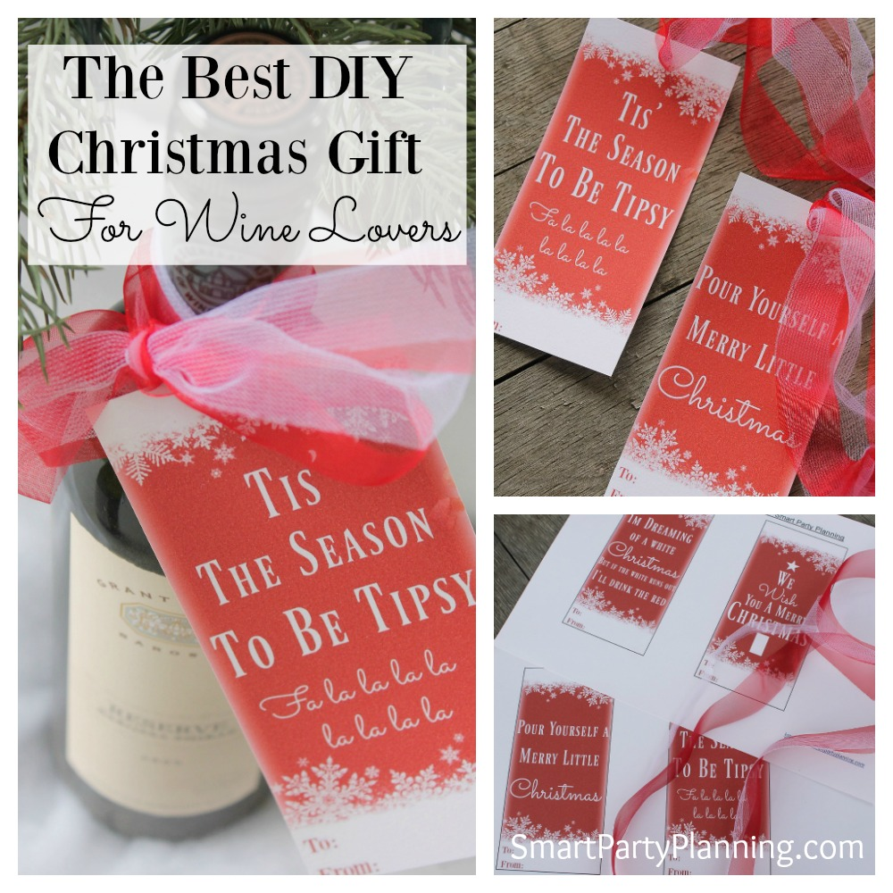 Wine Bottle Tags The Best DIY Christmas Gift For Wine Lovers