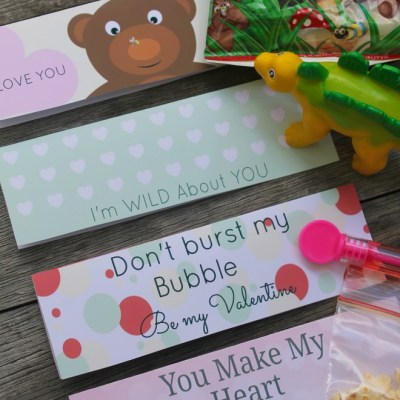 Treat Bag Toppers For A Special Valentines Easy Kids Gift