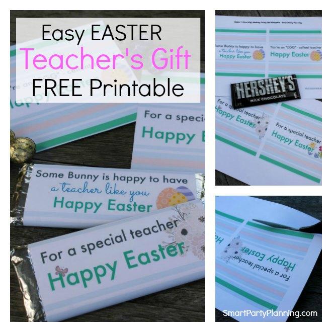 Easy Easter Teacher's Gift