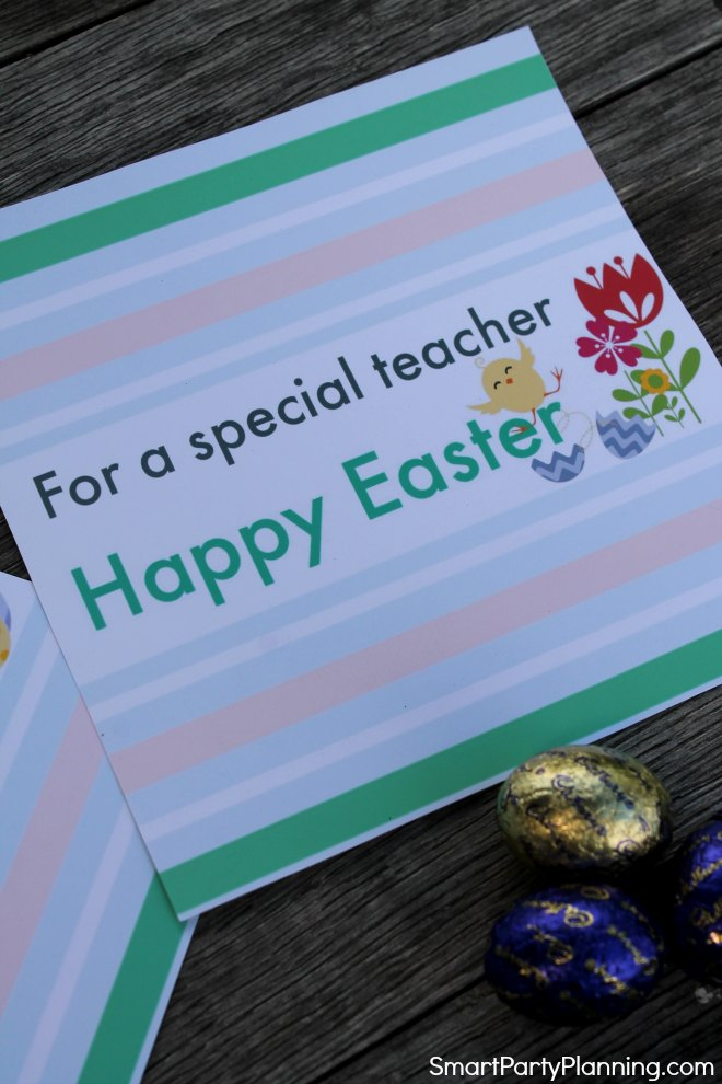 For a special teacher printable