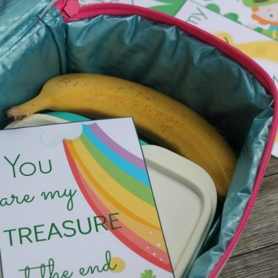 Free Lunch Box Notes For St Patrick's Day The Kids Will Love