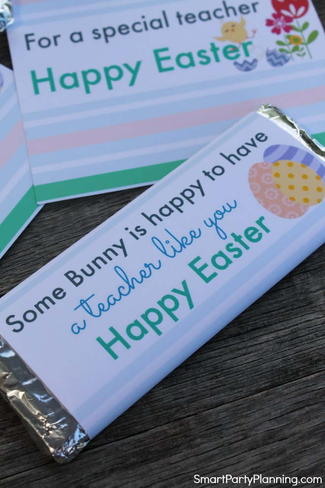 Some bunny is happy to have a teacher like you printable