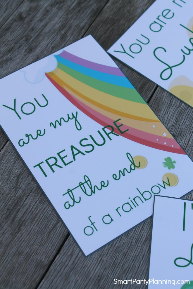 You are my treasure printable lunch note