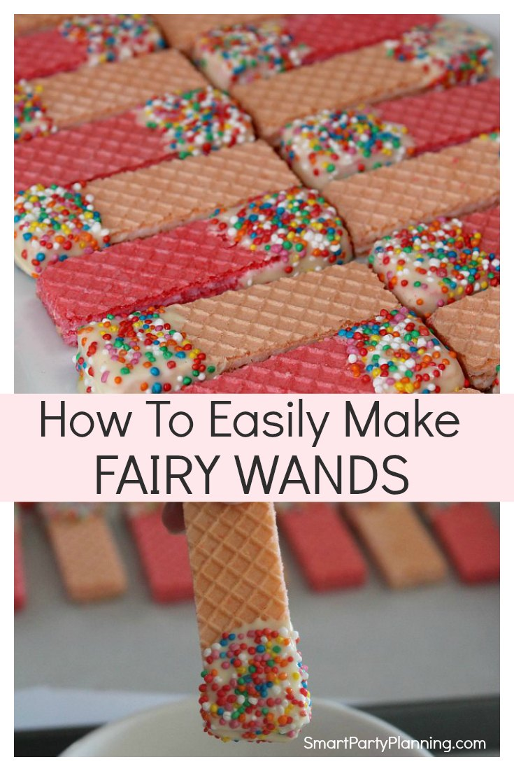 How to easily make fairy wands for girls