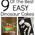9 of the best easy dinosaur cakes
